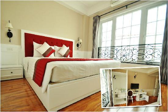 Calypso Suites Hotel : Deluxe room