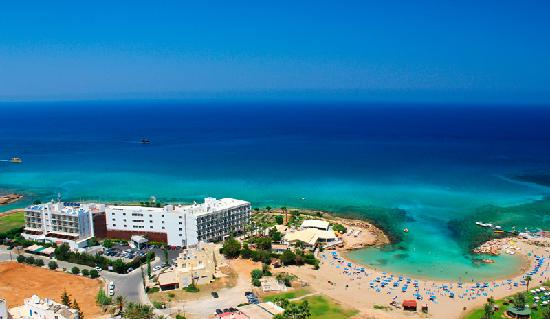 Aerial Photo of Pernera Beach Hotel