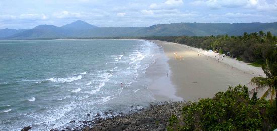 Four Mile Beach: the 4 mile beach