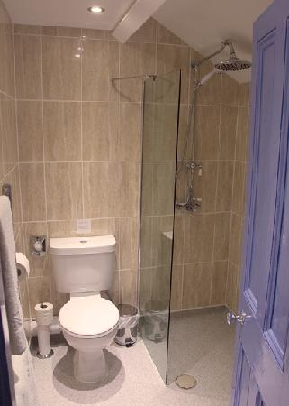 """King William the Fourth Guest House: """"Theakstons"""" - Single Room with this En-Suite Shower"""