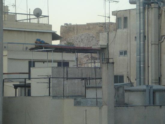โรงแรมอาเรธูซา: Vue de notre chambre