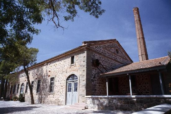 The Museum of Industrial Olive-Oil Production of Lesvos