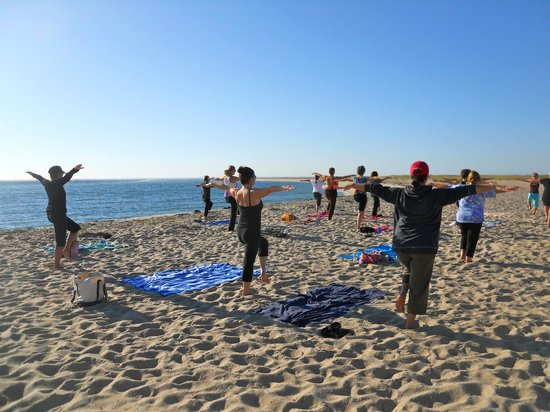 Chatham Lighthouse Beach Yoga