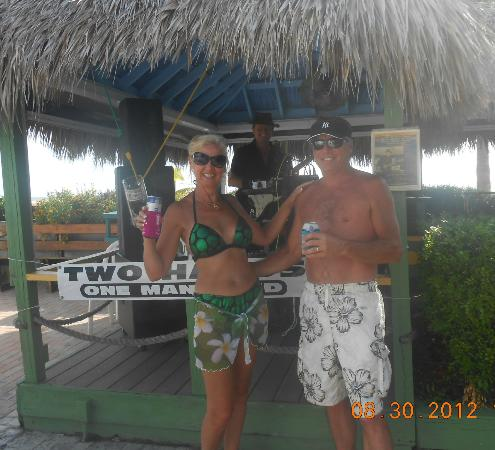 Outrigger Tiki Bar and Deckside Cafe: The Outrigger, Ft Myers