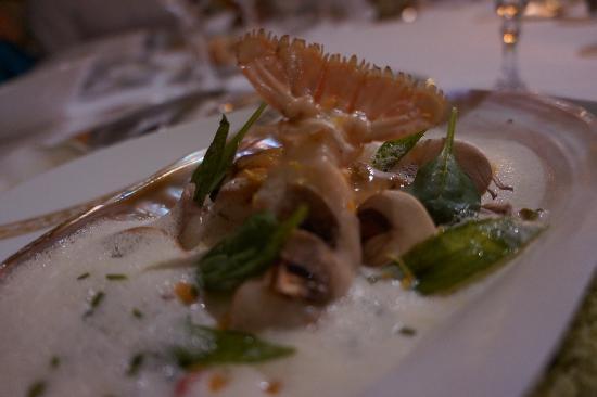 Hotel La Residence de la Pinede: dinner
