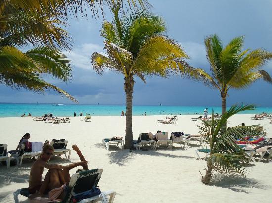 ClubHotel Riu Tequila: la spiaggia dell'hotel