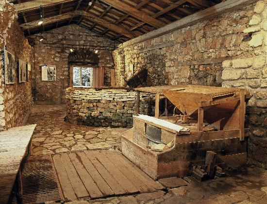 The open air water power museum in dimitsana peloponnese for Greek interior design history
