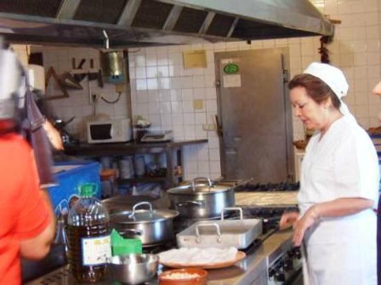 Restaurante Asador el Mirador: Grabacion del programa