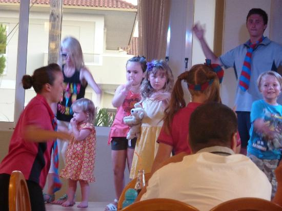 Marelen Hotel: Kids club disco