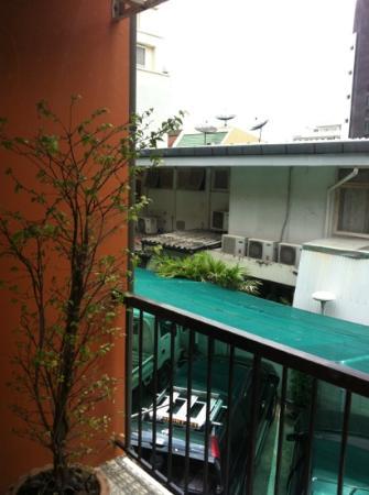 Reno Hotel: balcone privato e vista esterno