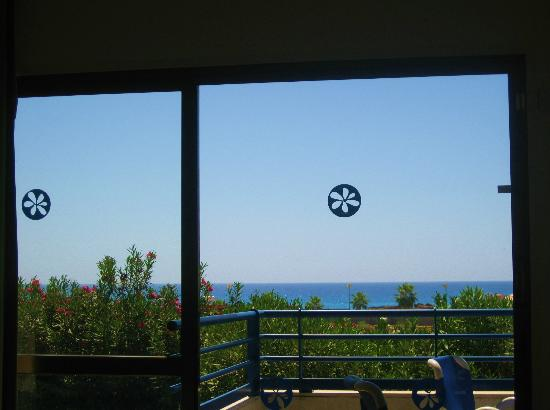 Sunwing Sandy Bay Beach: View from inside the 2 room apartment