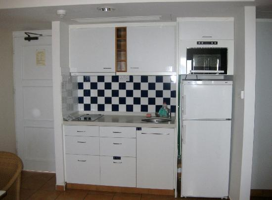 Sunwing Sandy Bay Beach: Kitchen in the 2 room apartment with seaview
