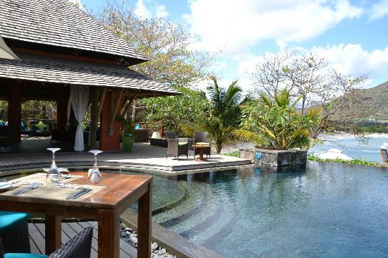 Tamarina Golf & Spa Boutique Hotel: Salle extérieure du restaurant