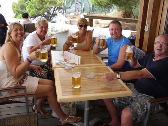 Tossa Beach Hotel: cheers