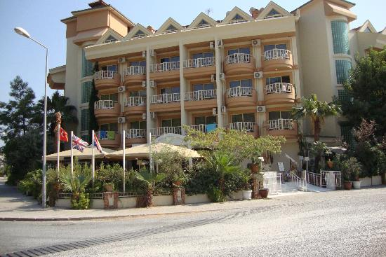 Grand Hotel Faros: Klein maar heel gezellig.