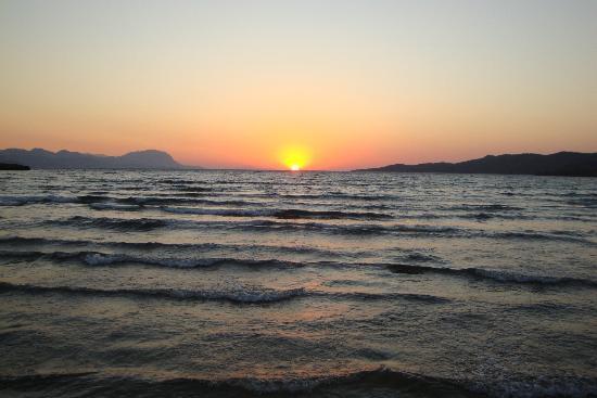 Grand Hotel Faros: Prachtige zonsondergang meegemaakt.