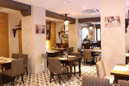 Interior of IL Bacaro Italian Restaurant