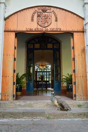 Hacienda Pinsaqui: main entrance