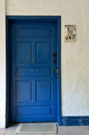 Hacienda Pinsaqui: door