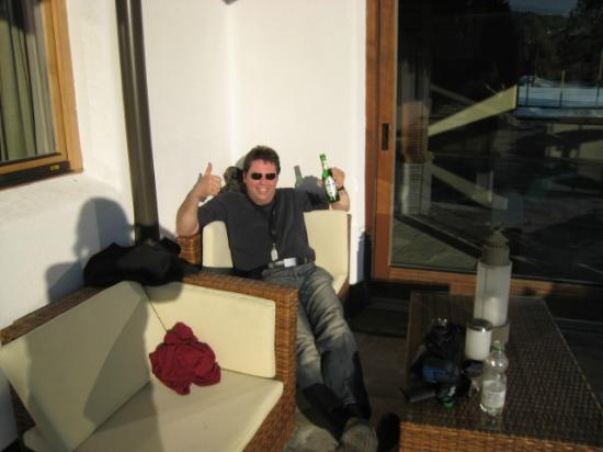 Hotel Princess Bergfrieden: Uitrusten in het zonnetje na de heenreis