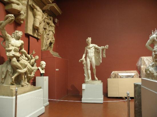 Musée des beaux-arts Pouchkine : Греческий зал