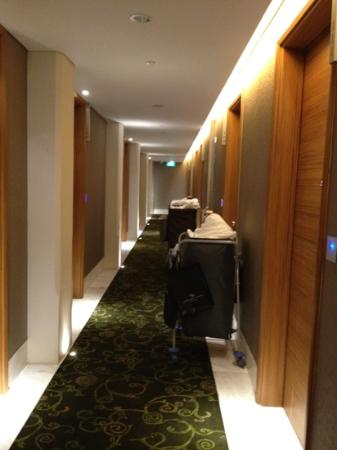 Hotel Fort Canning: the rooms