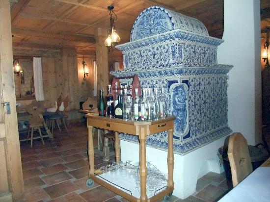 Hotel Terrassenhof : Kachelofen in der Stube