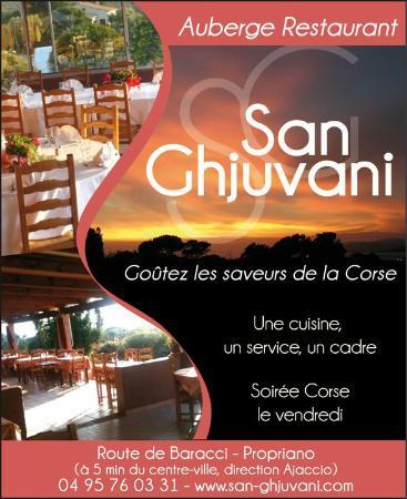 Auberge San Ghjuvani : auberge san ghuvani