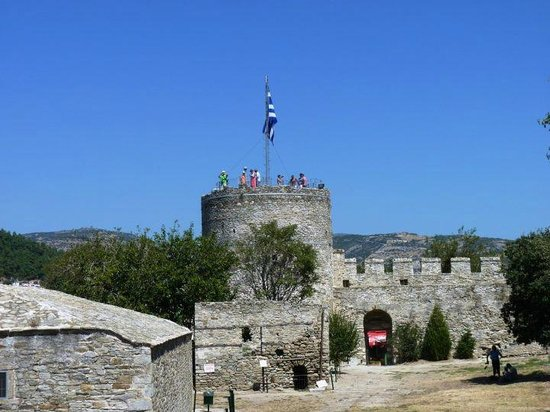 Kavala, Yunani: tower of the castle
