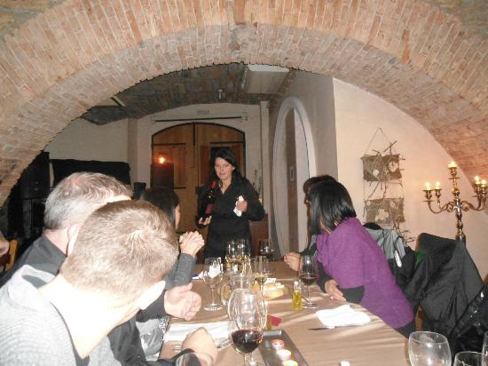 Vinoteka Brda: wine tasting