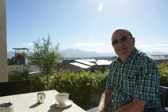 Oubaai Hotel Golf & Spa: balcony 