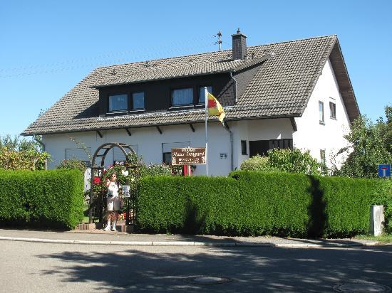 Front of Pension Haus Irmgard