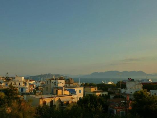 View from the roof top terrace.