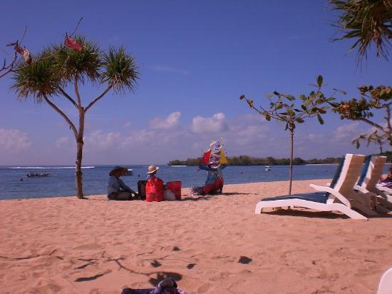 Nusa Dua Beach Hotel Spa Beach In Nusa Dua