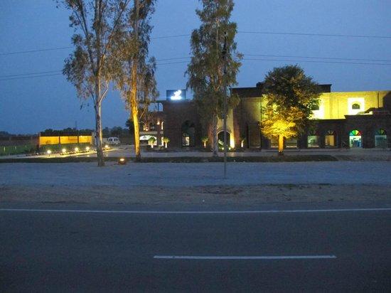 Night view of Sarhad