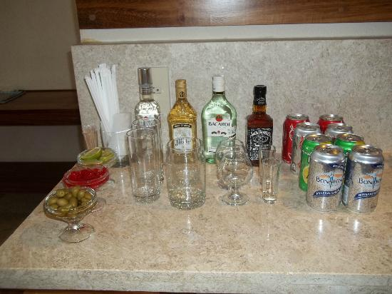Mini Bar In The Governor Suites Room 513 Picture Of