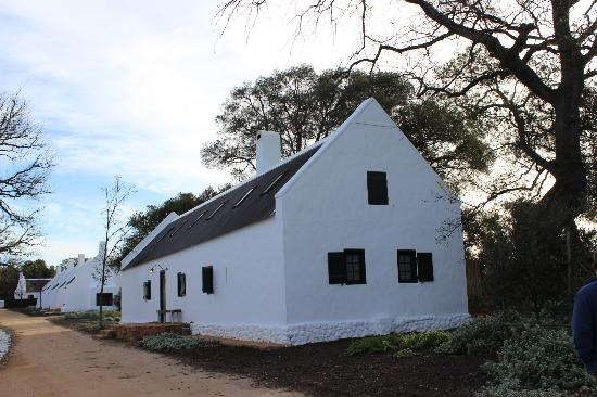 Babylonstoren: the cottages