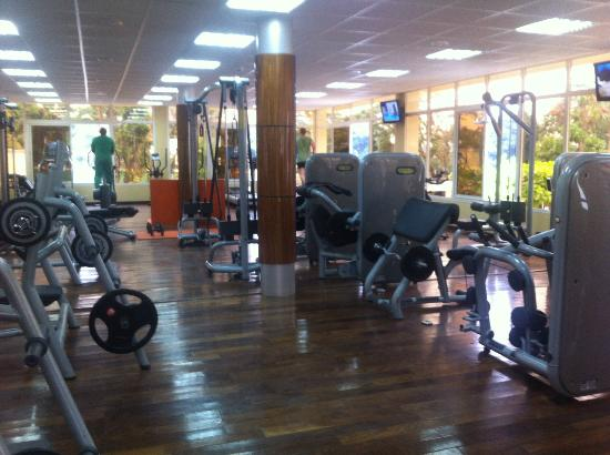 Grand Hotel Kinshasa : The well equiped gym