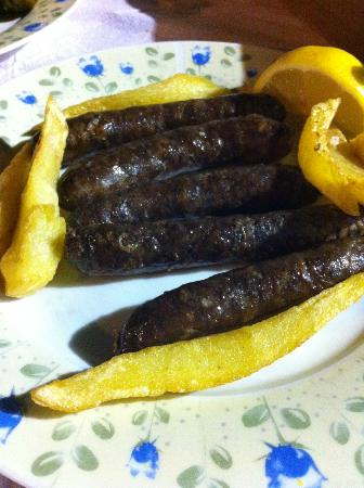 Mylos: local sausages