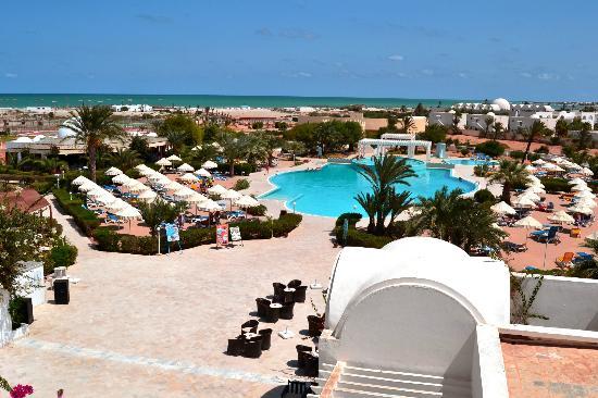 Palais des Iles Djerba Resort: vue de la chambre
