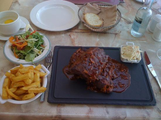 Hilton Malta: Pork Ribs - delicious
