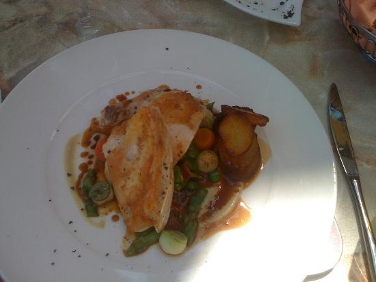 Hilton Malta: Chicken