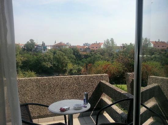 Hotel Podgorica: VISTA DESDE LA HABITACIÓN
