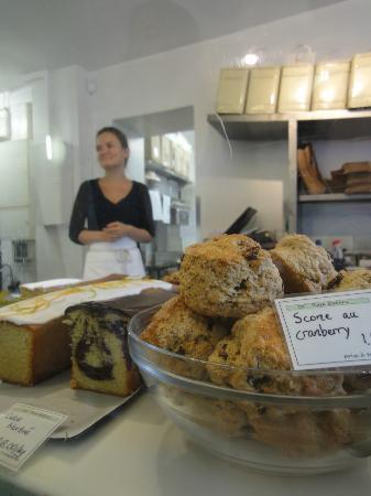 Rose bakery: Fresh made scones