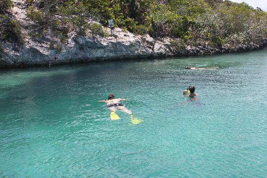 Starfish The Exuma Adventure Center: Snorkeling at Mystery Cave
