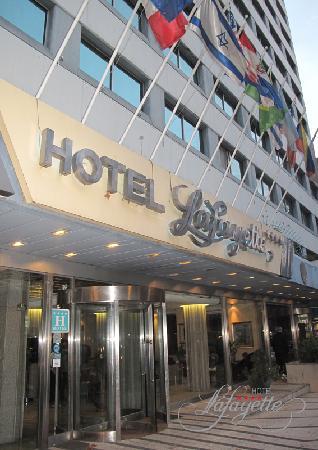 Hotel Lafayette: Fachada