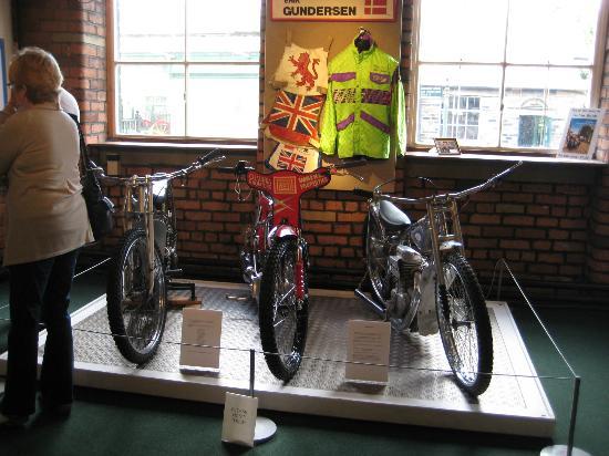 Bradford Industrial Museum: Jawa, Jap and GM.