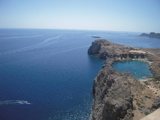 lindos - Billede af Agios Pavlos Beach (Saint Paul ...