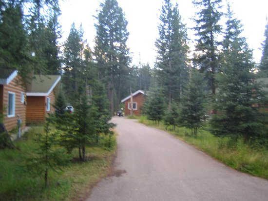 Jasper House Bungalows: View of the cabins -Vue des cabanes