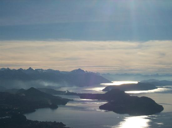 Сан-Карлос-де-Барилоче, Аргентина: Lago nahuel Huapi desde el cerro Otto